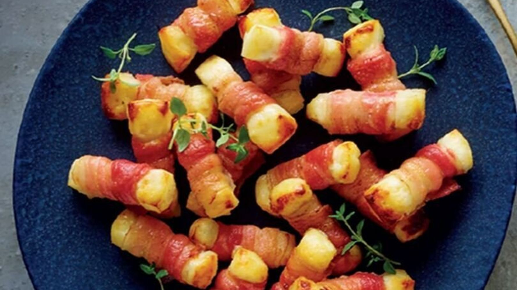 Aldi Unveils Halloumi Pigs-In-Blankets As Part Of Its 2019 Christmas Menu