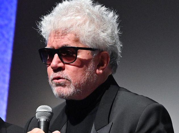 El director Pedro Almodóvar, elNew York Film Festival el 28 de septiembre de
