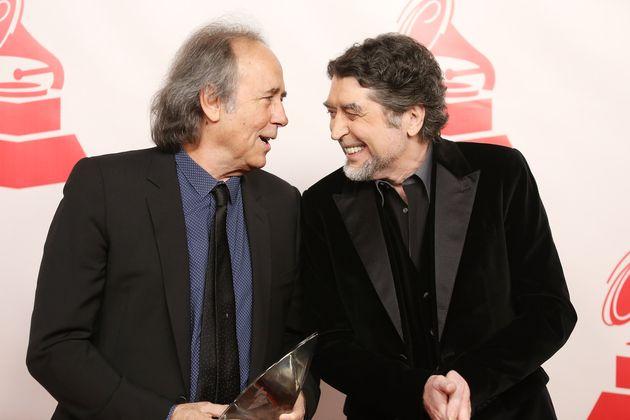 Joan Manuel Serrat y Joaquín Sabina, en Las Vegas el 29 de noviembre de