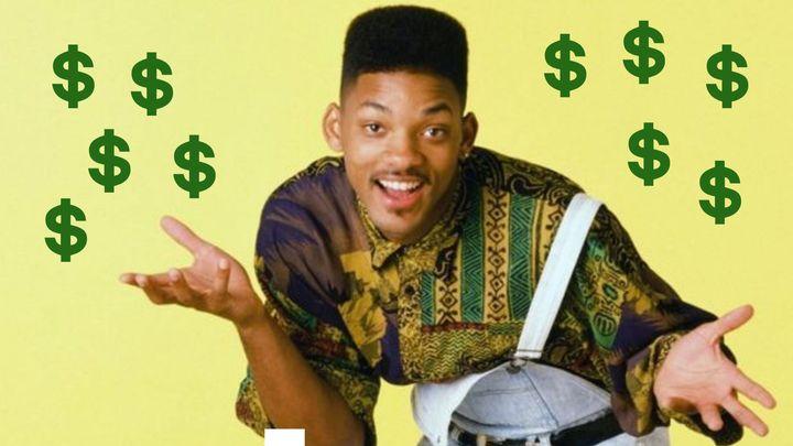 Will Smith como 'El Príncipe de Bel-Air'.