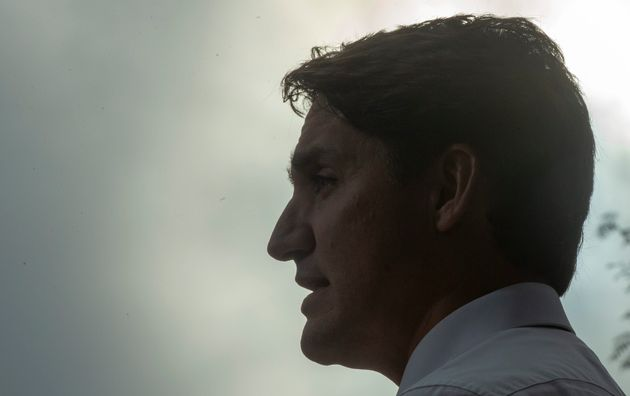 Liberal Leader Justin Trudeau speaks to media while campaigning in Delta, B.C., on Sept. 25, 2019. Researchers...
