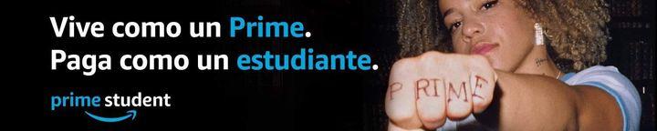 Campaña de Amazon sobre el servicio Prime Student.