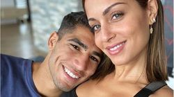 Achraf Hakimi et Hiba Abouk attendent un heureux