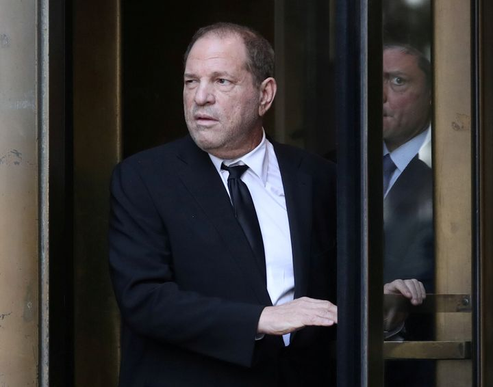 File image of Harvey Weinstein.