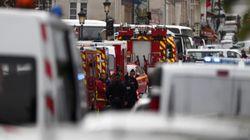 Las imágenes del ataque en la Prefectura de Policía de