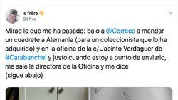 Denuncia que Correos no le ha dejado enviar un paquete por los dibujos del