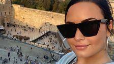 Demi Lovato Leid, Die Unter Freien Israel-Reise Für Instagram-Posts Nach Backlash