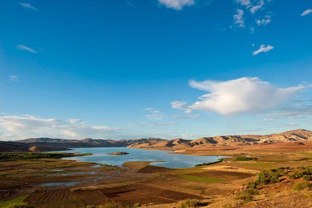 Le barrage Sidi Chahed, près de