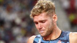 En larmes, Kevin Mayer abandonne le décathlon aux Mondiaux de