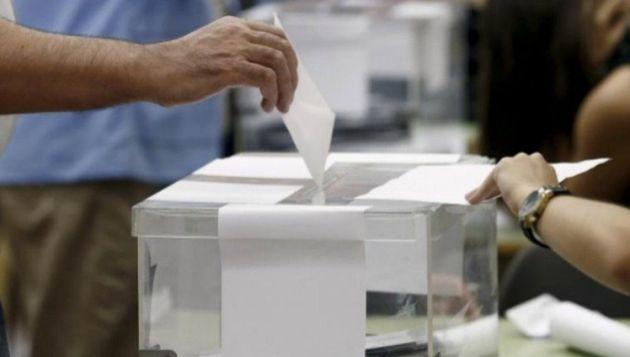 Urna en las elecciones