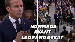 Macron fait observer une minute de silence avant le débat sur les retraites à
