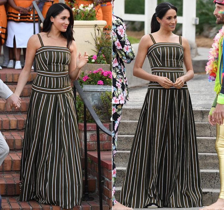 Westlake Legal Group 5d963aef2100000d04fa0239 All The Outfits Meghan Markle Rewore On Her Royal Tour Of South Africa