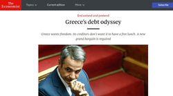 Economist: Εξωπραγματικοί οι στόχοι για τα πλεονάσματα - Η Ελλάδα χρειάζεται μεγάλη ελάφρυνση