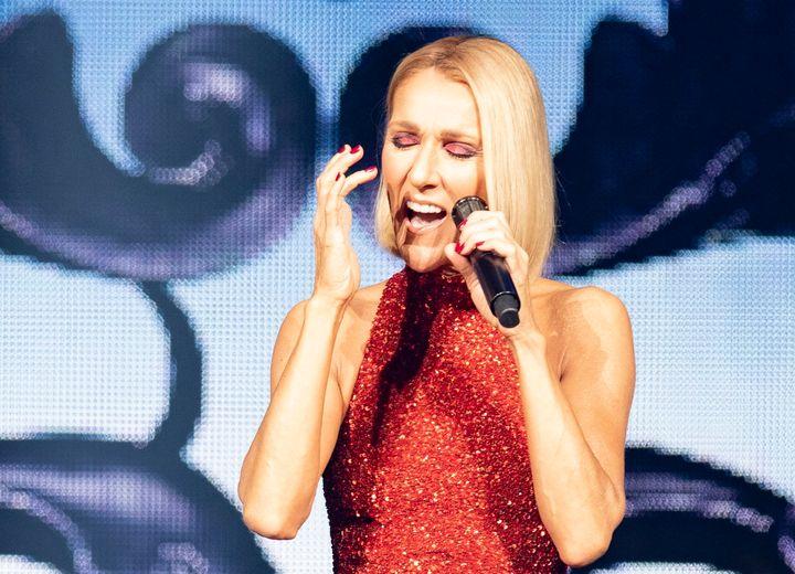 Céline Dion, lors de son spectacle au Centre Vidéotron de Québec, le 18 septembre dernier, dans le cadre de sa tournée «Courage».