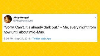 Introvert tweets