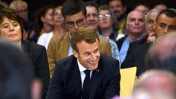 À Rodez, Macron fait de la pédagogie et joue la carte