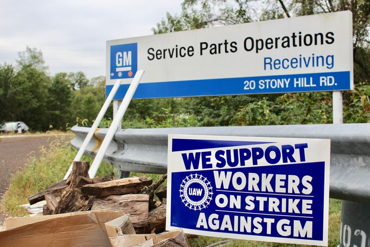 The Langhorne warehouse employs about 80 UAW members who are on strike.