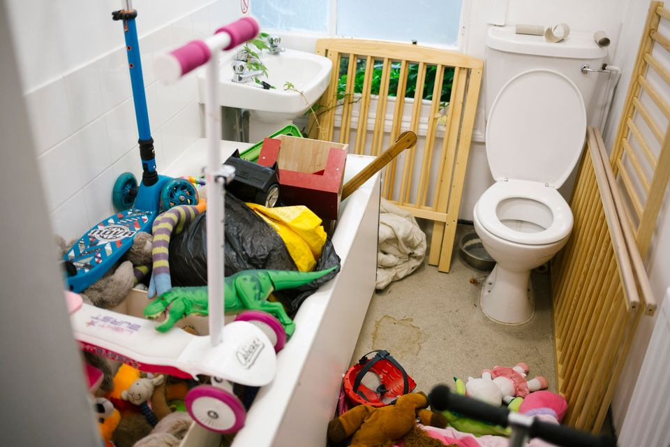 Cramped conditions in the hostel unit shared by Mohammed and his