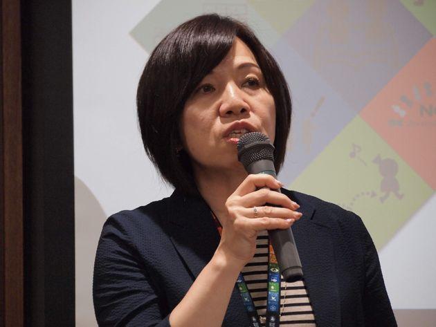 井上久美枝さん(「連合」総合男女・雇用平等局長)