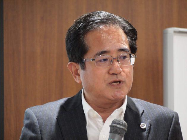 棗一郎さん(日本労働弁護団幹事長)
