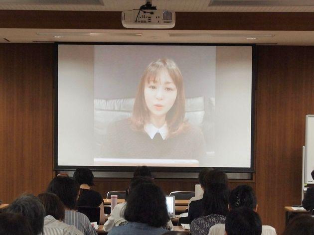 森崎めぐみさん(日本俳優連合国際事業部長)