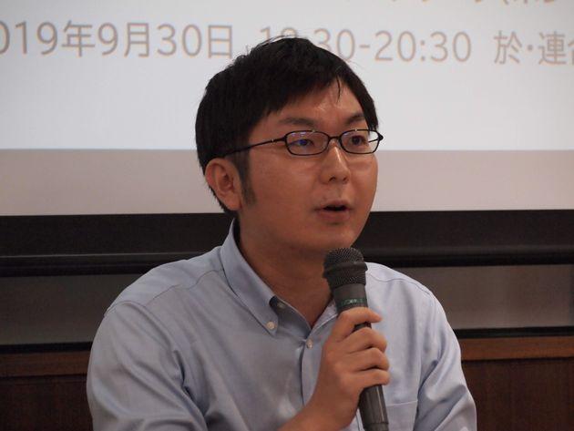 神谷悠一さん(LGBT法連合会事務局長)