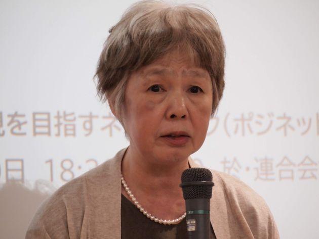 佐々木貞子さん(DPI日本会議常任委員、DPI女性障害者ネットワーク副代表)