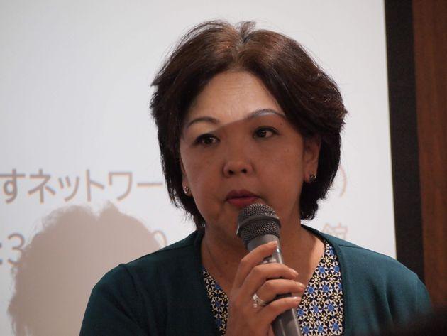佐藤かおりさん(パープル・ユニオン執行委員長)