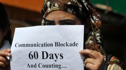 'Journalism Is Not A Crime': Kashmir Journalists Protest Against Internet