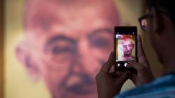 Gandhi's Portrait Defaced, Ashes Stolen In Madhya Pradesh's