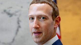 WASHINGTON, DC - SEPTEMBER 19: Facebook founder and CEO Mark Zuckerberg leaves a meeting with Senator John Cornyn (R-TX) in his office on Capitol Hill on September 19, 2019 in Washington, DC. Zuckerberg is making the rounds with various lawmakers in Washington today. (Photo by Samuel Corum/Getty Images)