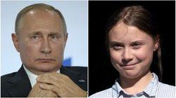 Greta Thunberg Just Sassed Putin With Her Classic Clapback