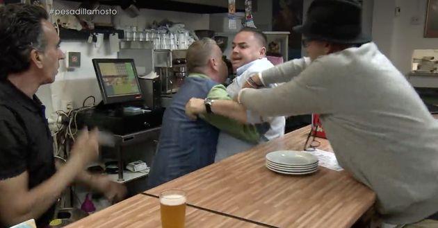 La pelea entre los camareros de 'Mosto