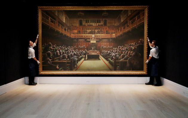 Το έργο του Banksy με τους...