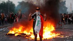 Tres días de protestas en Irak dejan decenas de muertos y el país