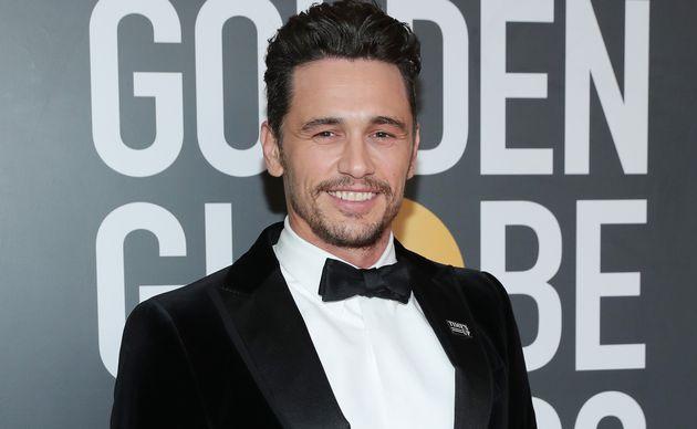 James Franco s'était présenté aux Golden Globe Awards en janvier 2018 avec le badge...