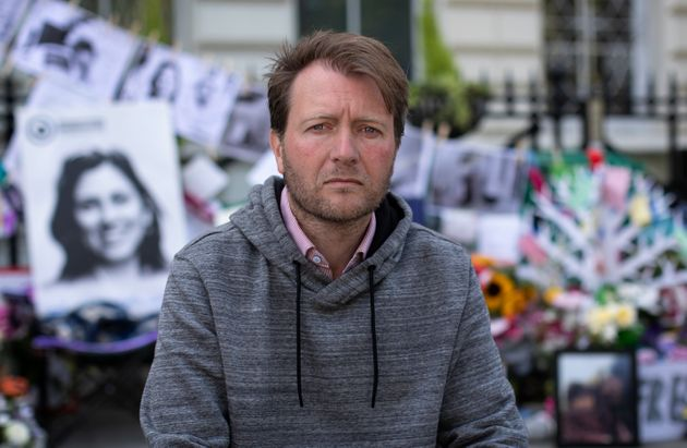 Richard Ratcliffe says his wife is giving up her weekly visits with their daughter to allow her to live...