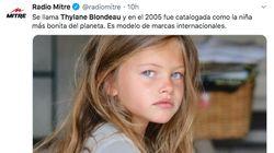 La que fue considerada 'niña más guapa del mundo' reaparece con 18 años en un anuncio junto a Óscar