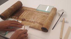 Η Εθνική Βιβλιοθήκη ανοίγει το Εργαστήριο Συντήρησης των χειρογράφων στο