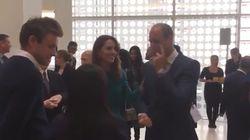 Lo que ves en esta imagen provoca revuelo en el Reino Unido: mira dónde va la mano de Kate
