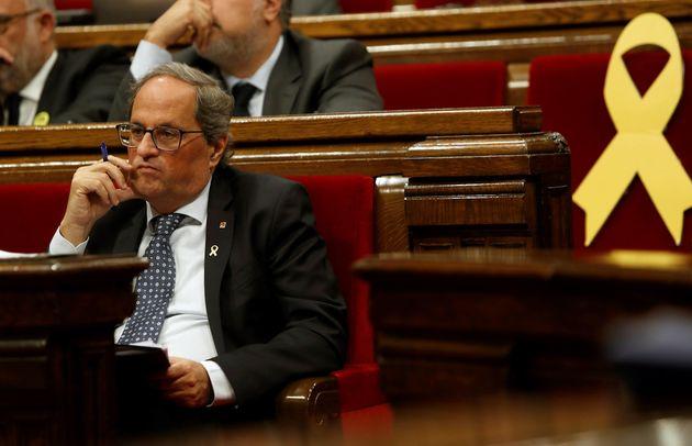 El presidente de la Generalitat, Quim