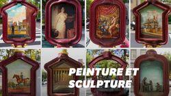 Le street art offre une seconde vie aux bornes d'appel d'urgence de