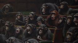 El Parlamento británico habitado por chimpancés, un 'Banksy' que vale