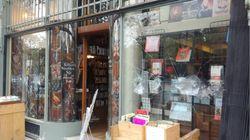 Une librairie d'extrême droite vandalisée avant une dédicace de Jean-Marie Le