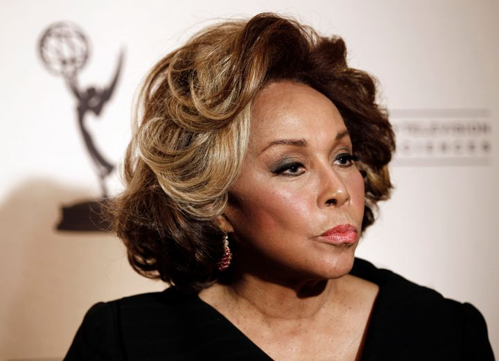 Inductee Diahann Carroll arrives at the Academy of Television Arts and Sciences 20th Annual Hall of Fame Induction Gala in Be