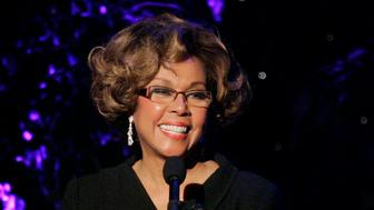 Diahann Carroll is seen on stage at the Women In Film 2007 Crystal+Lucy Awards in Beverly Hills, Calif., Thursday June 14, 2007. (AP Photo/Mark J. Terrill)