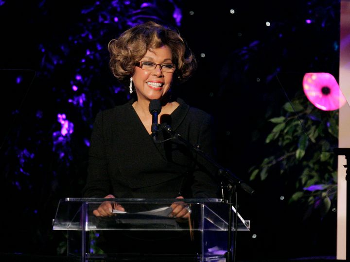 Diahann Carroll is seen on stage at the Women In Film 2007 Crystal+Lucy Awards in Beverly Hills, Calif., Thursday June 14, 20