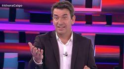 Arturo Valls ('Ahora Caigo') sorprende con su comentario sobre un compañero de