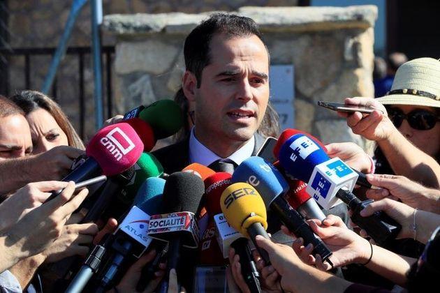El vicepresidente de la Comunidad de Madrid, Ignacio Aguado. EFE/ Fernando