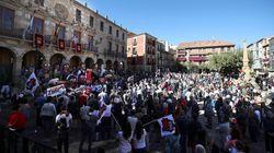 La España Vaciada se detiene cinco minutos